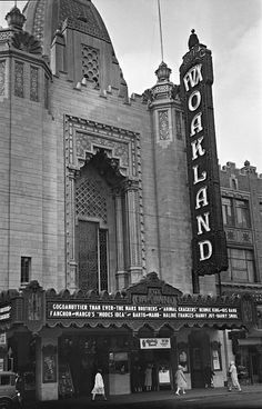 Fox Oakland Theatre, Oakland, California – September 12, 1930.