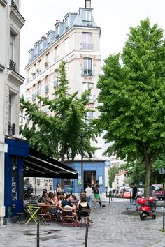 Belleville is a Paris neighborhood which lies in 4 different arrondissements.