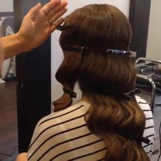 @basharhairstyles old Hollywood glamour hair tutorial ..setting ... | Iconosquare