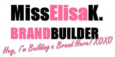 Miss Elisa K., The Blog: Promote Your Brand Check out my first #branding lesson on #MissElisaKTheBlog!!! Let me know what think and #Pin it if it's helpful!