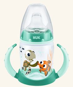 150/ml NUK Disney Cars First Choice Learner Cup mit Trinkt/ülle Silikon