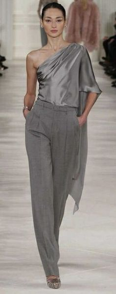 Ralph Lauren - love the draping of the top