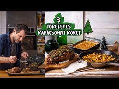 3 perfekt karácsonyi köret Zétől - YouTube Cake Recipes, Beverages, Menu, Chicken, Kitchen, Youtube, Food, Christmas, Menu Board Design