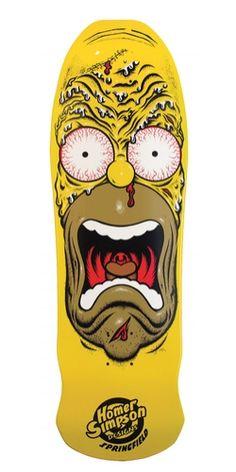 Rob Roskop/Homer9.5inx31in Simpsons Homer Face  Deck