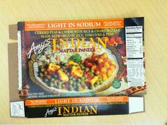 Amy's Indian Mattar Paneer, #glutenfree