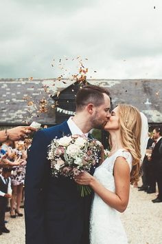 All the feels from this precious send off photo by Leanne Jade Photography