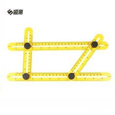 Instrument de mesure Réglable Magie Règle Angle-izer Modèle Outil Quatre-côté Règle Constructeurs Charpentier Artisans Ingénieur D1009(China (Mainland))