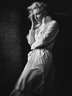 Cate Blanchett by Mark Abrahams