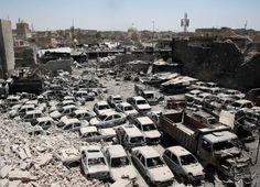 Die irakische Regierung verkündet den Sieg über den Islamischen Staat in Mosul.