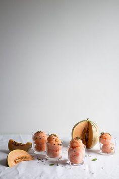 Cantaloupe frozen de
