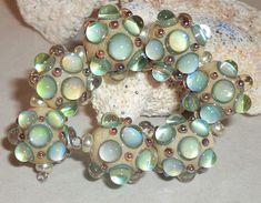 Lisa Jenkins's media statistics and analytics Handmade Beads, Handmade Jewelry, Unique Jewelry, Stone Beads, Glass Beads, Faux Stained Glass, Lampwork Beads, How To Make Beads, Bead Art