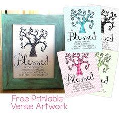 Free Printable Bible Verse Decor