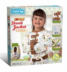 Control Toys – A Straight Jacket and a Cage for Kids