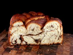 Vanilla Bean Brown Butter Cinnamon Swirl Challah – A Guest Post for 'Baking with Heritage' at Food Wanderings