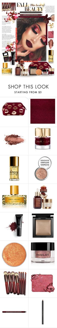 """""""The Best of Fall Beauty"""" by blondemommy ❤ liked on Polyvore featuring beauty, Beauty Secrets, Smith & Cult, NYX, Obsessive Compulsive Cosmetics, Vilhelm Parfumerie, Estée Lauder, Inglot, Bare Escentuals and Too Faced Cosmetics"""