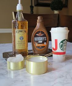 DIY Starbucks Carmel Macchiato Recipe sub SF syrups Ninja Coffee Bar Recipes, Starbucks Recipes, Starbucks Drinks, Starbucks Coffee, Iced Caramel Macchiato Recipe, Cappuccino Recipe, Healthy Iced Coffee, Cold Brew Iced Coffee, Coffee Drinks