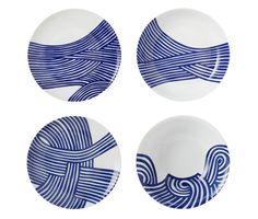 Ceramic dinnerware set designed by John Newdigate via di-doo-da.blogspot.com