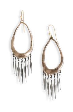 Alexis Bittar 'Miss Havisham' Liquid Metal Fringe Earrings