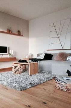 ....:star:.... - Foto von Mitglied Engelbengel0609 #solebich #interior #einrichtung #inneneinrichtung #deko #decor #livingroom #greysofa #leafprint #pillow #cushion #fluffyrug #basket #wohnzimmer #grauessofa #grauecouch #kuschelteppisch #flauschiteppich #kissen #körbe