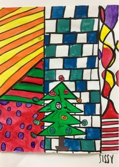 4th Grade Romero Britto Trees-Kim & Karen: 2 Soul Sisters (Art Education Blog): O Britto Tree, O Britto Tree...