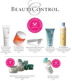 What do YOU love most about each of these award-winning products? Contact your #BeautiControl Consultant or click here to shop now!