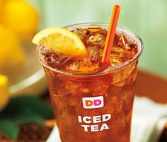 Free Iced Tea at Dunkin' Donuts (today only)  In celebration of National Iced Tea Day, Dunkin' Donuts is giving away a free Iced Tea to everyone who enrolls in DD Perks and uses coupon code ICEDTEA.