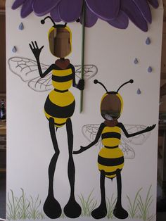 Bee photo booth for the Finger Lakes Lavender Festival