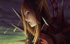 Elf warrior wallpaper