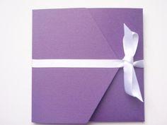 Scottish Thistle Design Purple Pocketfold - Vintage Wedding Stationery Scotland - VOWS Award Nominee 2013 Purple Wedding Stationery, Modern Wedding Invitations, Wedding Invitation Design, Purple Cards, Scottish Thistle, Vows, Thank You Cards, Color Schemes, Scotland