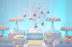 winter wonder land party ideas | Winter Wonderland Dessert Table — Celebrations at Home