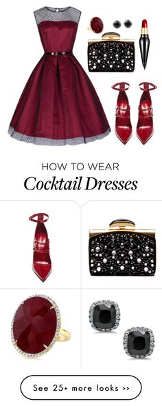 """Elegant"" by phanh170102 on Polyvore featuring мода, Tamara Mellon, Nina Ricci и Christian Louboutin"