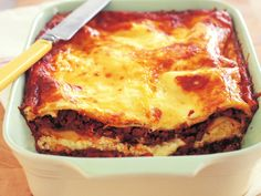 Ricotta cheese takes the place of bechamel sauce to make this a truly quick and easy lasagne without sacrificing flavour or texture. #Italian #KidFriendly #Easy #Pasta #Main #Beef