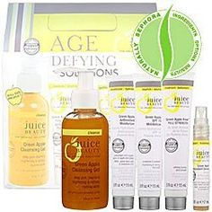 you're want to buy Juice Beauty Green Apple Age Defying Solutions Kit ($75 Value),yes ..! you comes at the right place. you can get special discount for Juice Beauty Green Apple Age Defying Solutions Kit ($75 Value).