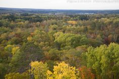Aiton Heights Fire Tower view, Fall 2015