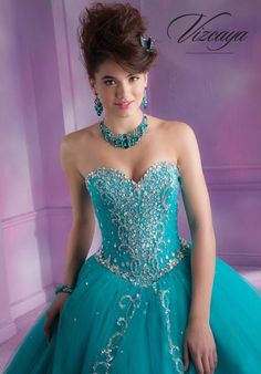 2014 Vizcaya Quinceanera Ball Gown Dress 88088