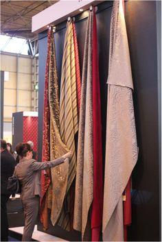 Kobe stand at Interiors UK 2014 #fabrics #curtains #upholstery #interiorsuk