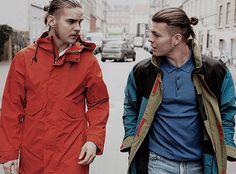 """""Marco Ilsø & Alex Høgh Andersen photographed by Oliver Knauer for Dossier Danmark """""