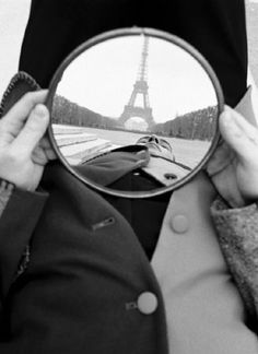 Mirror Eiffel  by Geof Kern