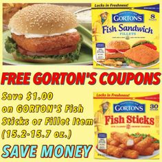 Best tilapia from gortons recipe on pinterest for Gorton s fish coupons