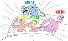 I found this pic under draw the squad. Combined it with the vld characters<<it's perfect