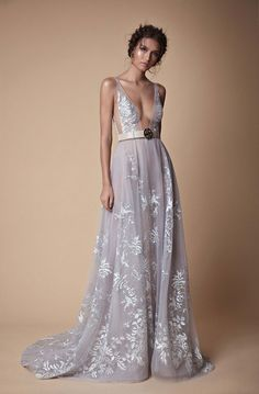 Trendy Wedding Dresses Fit And Flare Light Blue Blue Wedding Gowns, Fancy Wedding Dresses, Fit And Flare Wedding Dress, Robe Diy, Evening Dresses, Prom Dresses, Couture Dresses, Beautiful Gowns, Dream Dress