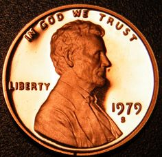 2018 lincoln penny. wonderful 2018 nice amazing 1979 s lincoln memorial cent type 2 clear gem deep cameo  proof penny in 2018 lincoln penny