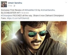 khaidi no 150 uk review : blockbuster 4/5