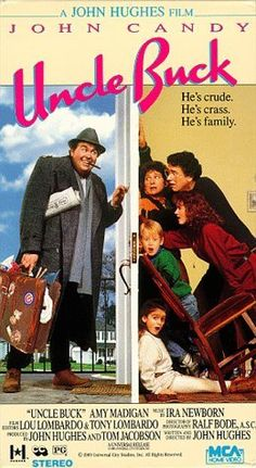 """UNCLE BUCK"". (1989)  JOHN CANDY, AMY MADIGAN"