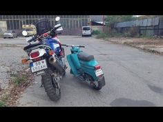 Honda Africa Twin 750 vs. Jawa Pionier 05