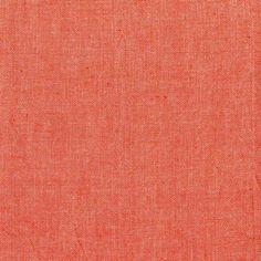 Andover Chambray Fabric - Pumpkin