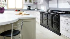 Aga ovens are becoming more and more popular.