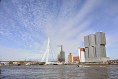 Rotterdam, Skyline City in The Netherlands