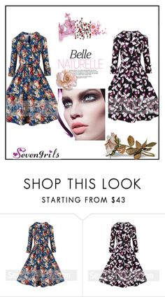 """Sevengrils"" by dilruha ❤ liked on Polyvore featuring vintage"
