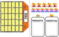 Maternelle Grande Section, Classroom Management Tips, Petite Section, Busy Bags, Bar Chart, Periodic Table, Presents, Teaching, Place